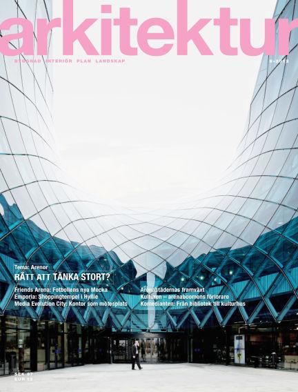 Arkitektur (Inga nya utgåvor) December 10, 2012 00:00