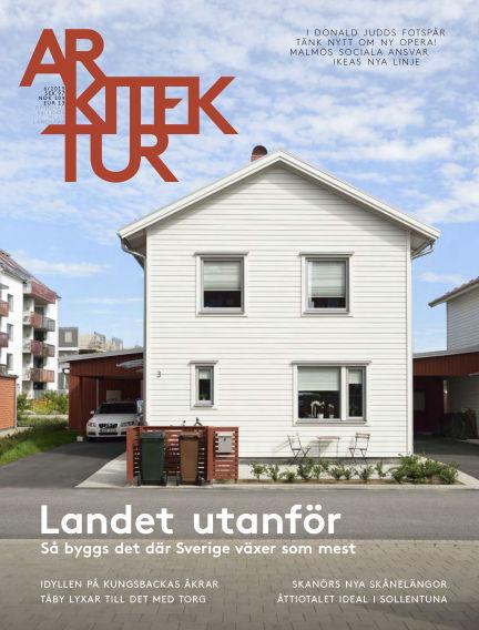 Arkitektur (Inga nya utgåvor) September 25, 2015 00:00