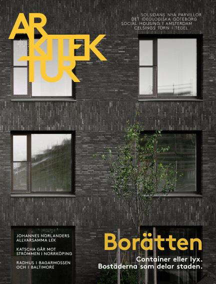 Arkitektur (Inga nya utgåvor) December 09, 2016 00:00