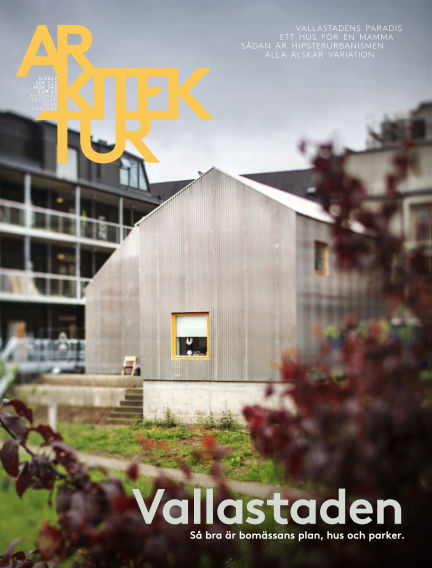 Arkitektur (Inga nya utgåvor) August 25, 2017 00:00