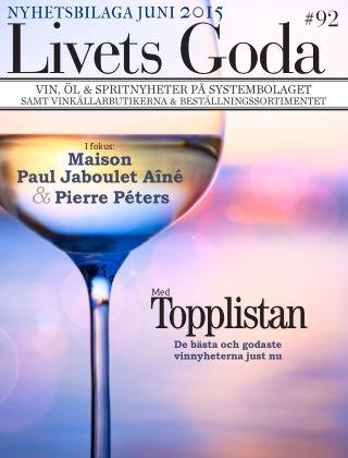 Livets Goda 2015-06-01