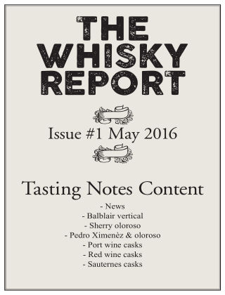 The Whisky Report 2016-05-18