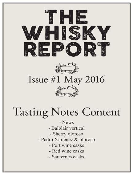 The Whisky Report (Inga nya utgåvor) May 18, 2016 00:00