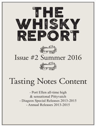 The Whisky Report 2016-07-08