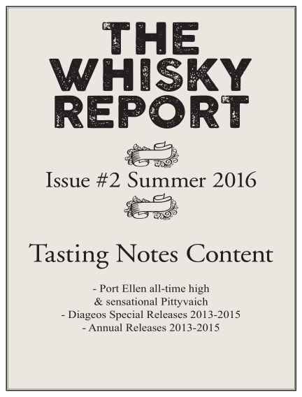 The Whisky Report (Inga nya utgåvor) July 08, 2016 00:00