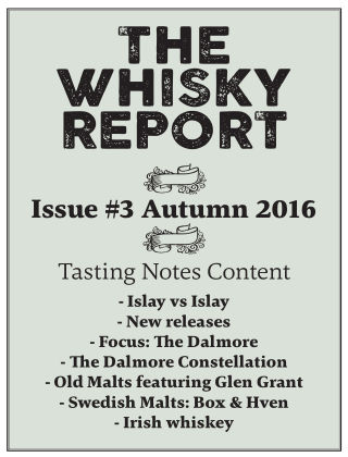 The Whisky Report 2016-11-01