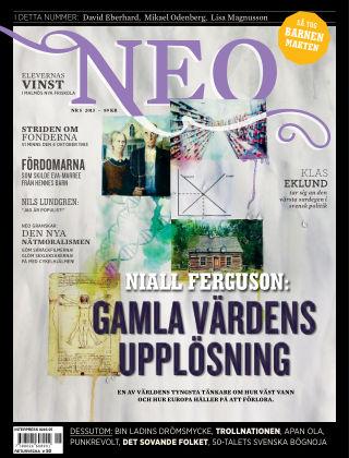 Magasinet Neo (Inga nya utgåvor) 2013-10-08