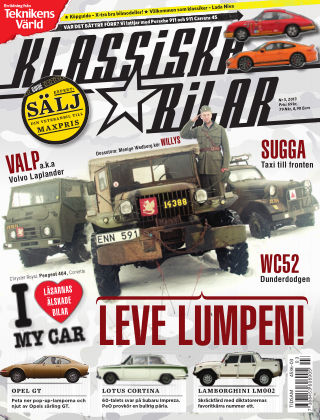 Klassiska Bilar (Inga nya utgåvor) 2013-02-26