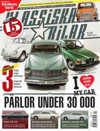 Klassiska Bilar (Inga nya utgåvor) 2013-04-02