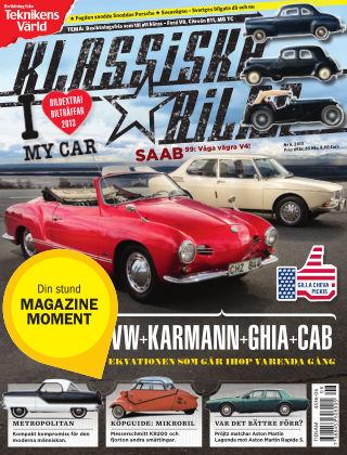 Klassiska Bilar (Inga nya utgåvor) 2013-06-11