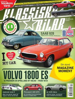 Klassiska Bilar (Inga nya utgåvor) 2013-07-25