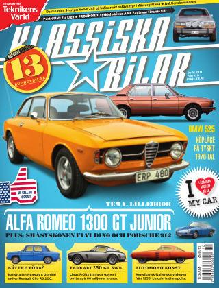 Klassiska Bilar 2013-11-12