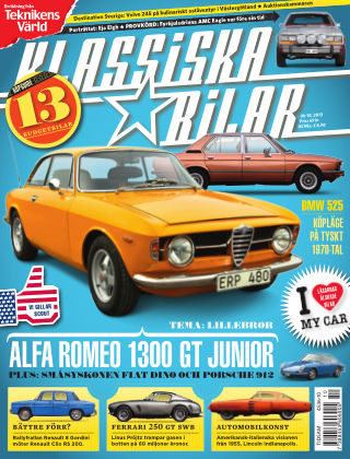 Klassiska Bilar (Inga nya utgåvor) 2013-11-12