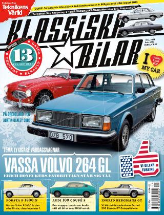 Klassiska Bilar 2014-01-21