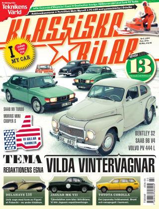 Klassiska Bilar (Inga nya utgåvor) 2014-02-28
