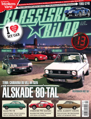 Klassiska Bilar (Inga nya utgåvor) 2014-04-08