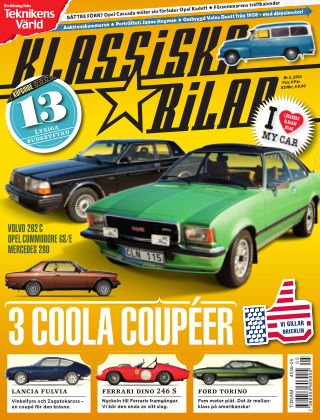 Klassiska Bilar (Inga nya utgåvor) 2014-05-09