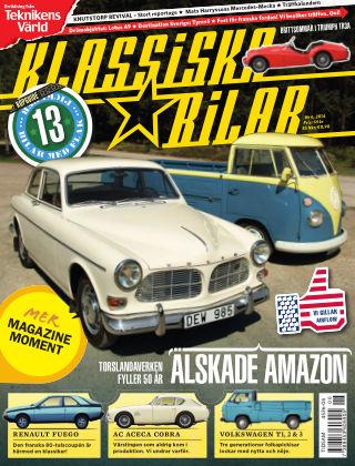 Klassiska Bilar (Inga nya utgåvor) 2014-06-17