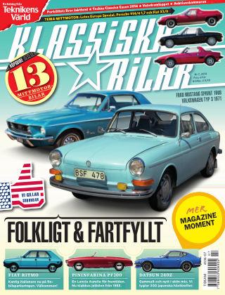 Klassiska Bilar (Inga nya utgåvor) 2014-07-22