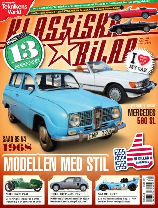 Klassiska Bilar (Inga nya utgåvor) 2014-08-28