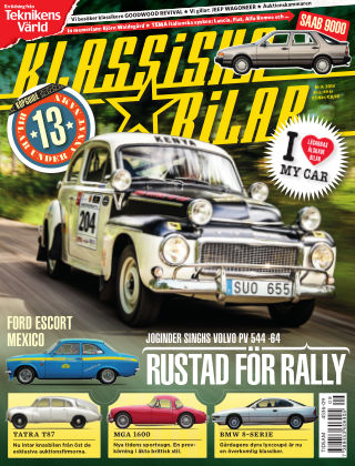 Klassiska Bilar (Inga nya utgåvor) 2014-10-29