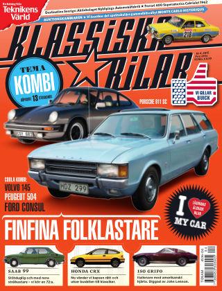 Klassiska Bilar (Inga nya utgåvor) 2015-04-14