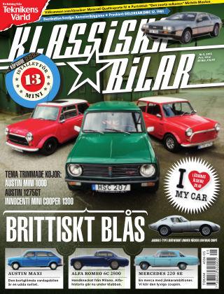 Klassiska Bilar (Inga nya utgåvor) 2015-05-05