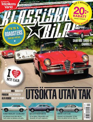 Klassiska Bilar (Inga nya utgåvor) 2015-07-21