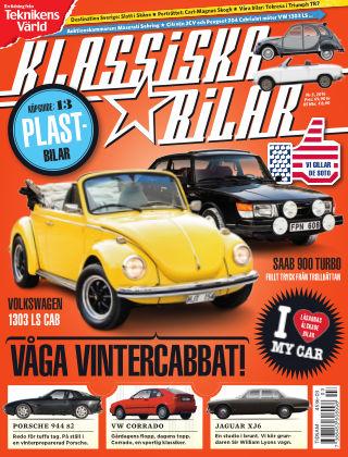 Klassiska Bilar (Inga nya utgåvor) 2016-02-19