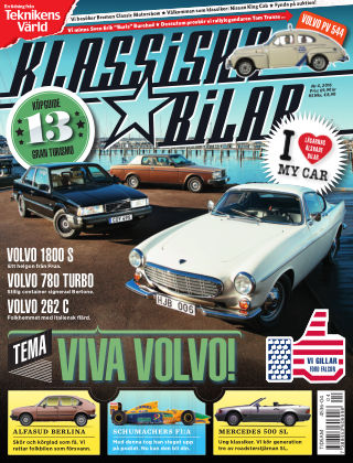 Klassiska Bilar (Inga nya utgåvor) 2016-03-31