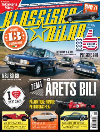 Klassiska Bilar (Inga nya utgåvor) 2016-05-03