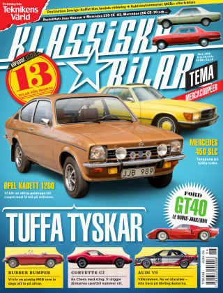 Klassiska Bilar (Inga nya utgåvor) 2016-06-10