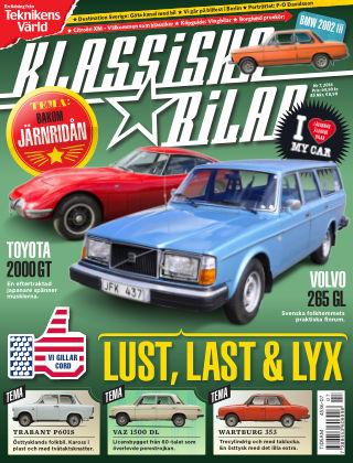 Klassiska Bilar (Inga nya utgåvor) 2016-07-15