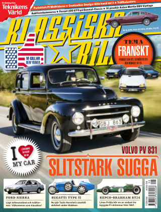 Klassiska Bilar (Inga nya utgåvor) 2016-08-19
