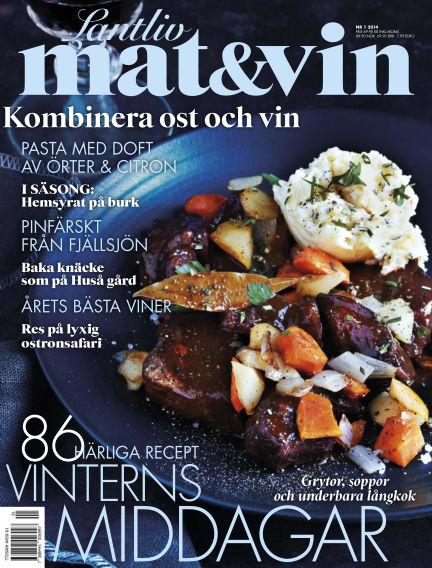 Lantliv Mat & Vin (Inga nya utgåvor) December 30, 2013 00:00