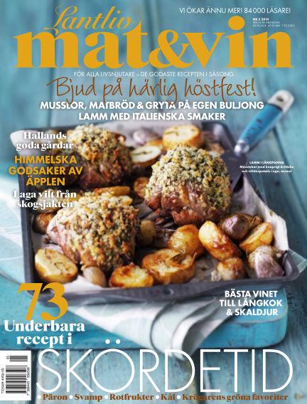 Lantliv Mat & Vin (Inga nya utgåvor) August 15, 2014 00:00