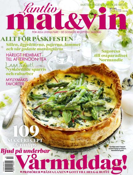 Lantliv Mat & Vin (Inga nya utgåvor) March 05, 2015 00:00