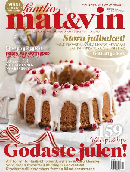 Lantliv Mat & Vin (Inga nya utgåvor) November 03, 2016 00:00