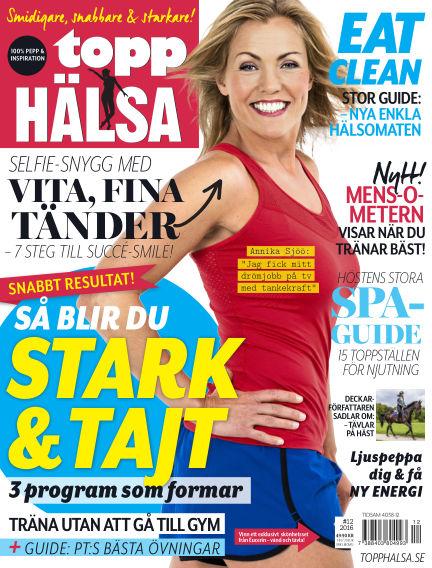 Topphälsa October 26, 2016 00:00