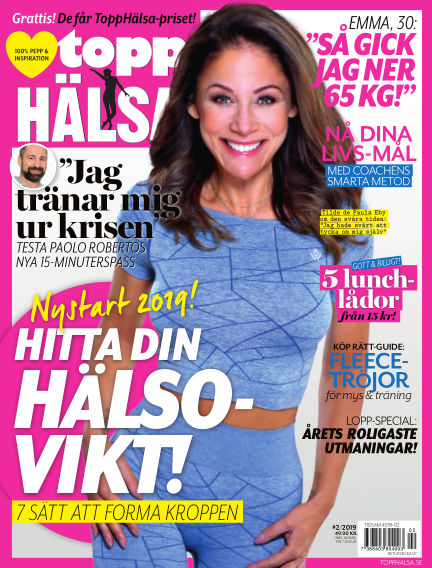 Topphälsa January 10, 2019 00:00
