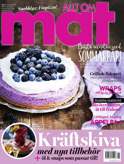 Allt om Mat July 24, 2018 00:00