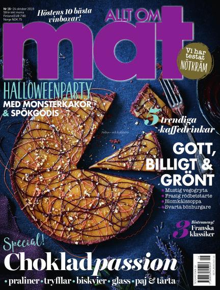 Allt om Mat October 24, 2019 00:00