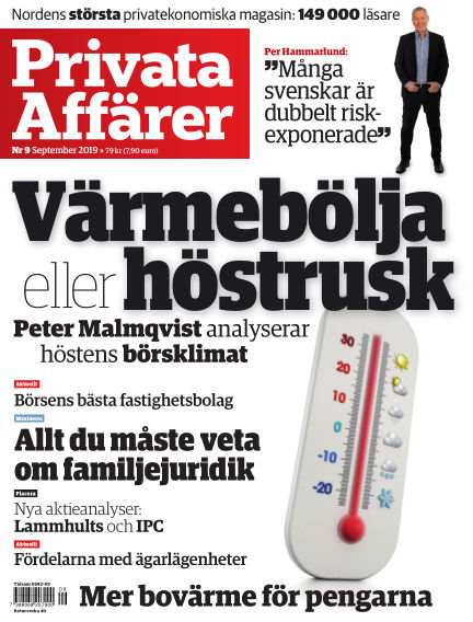 Privata affärer August 29, 2019 00:00