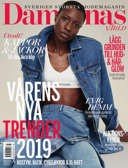 Damernas Värld February 14, 2019 00:00
