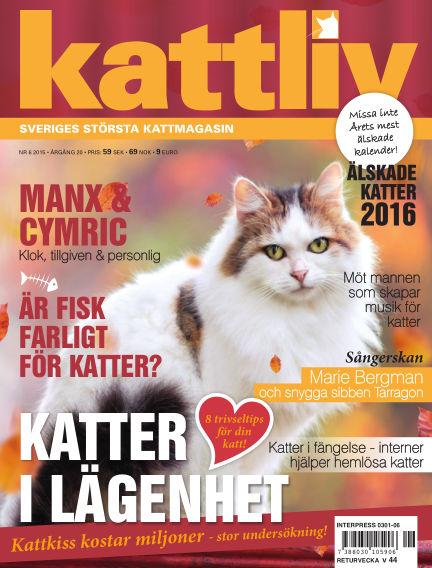 Kattliv September 08, 2015 00:00