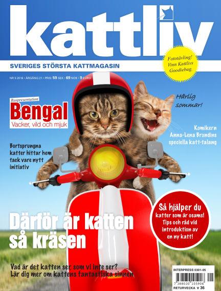 Kattliv July 05, 2016 00:00