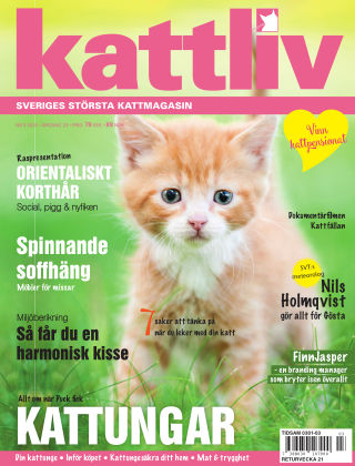 Kattliv 2018-04-10