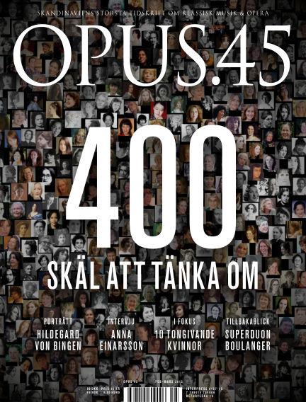 OPUS February 19, 2013 00:00