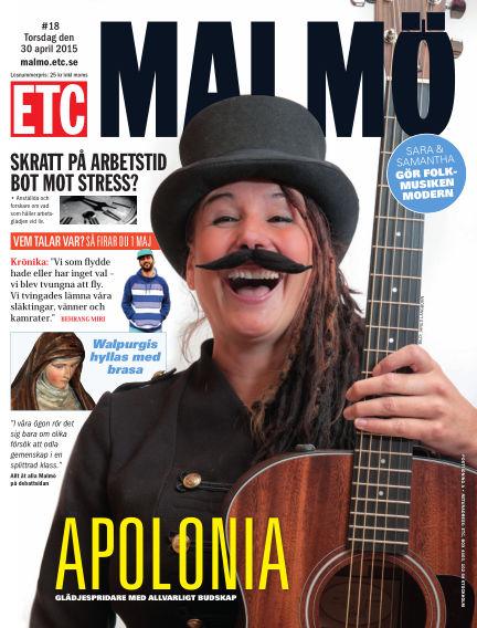 ETC Lokaltidningen (Inga nya utgåvor) May 01, 2015 00:00