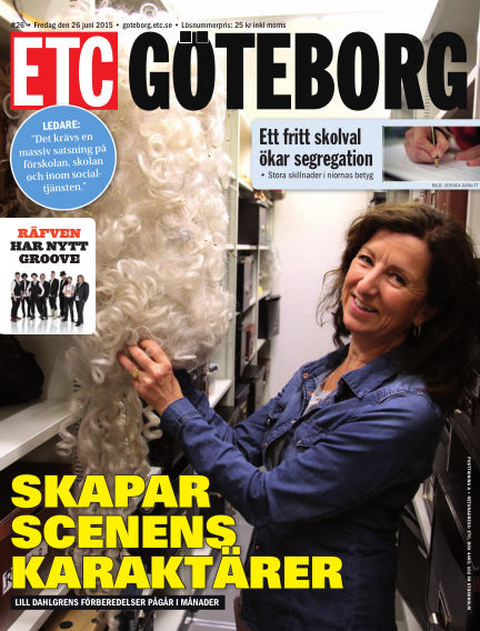 ETC Lokaltidningen (Inga nya utgåvor) June 26, 2015 00:00